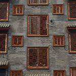 德兴市 街道改造/仿古铝花格/木纹铝窗花/铝花格/定制厂家价格