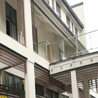 铝窗花屏风隔断 仿木纹铝窗花厂家直销