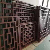 南京仿木纹铝窗花 ,古建铝花格厂家直销