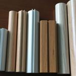 【铝方通】厂家定做型材U型圆形木纹色方通