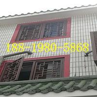 蚌埠 街道改造仿木纹铝窗花,古建铝窗花厂家