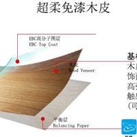 广州沃哲超柔免漆木饰面 免漆木皮 工程采购家具定制