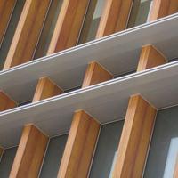 德普龙厂家供应定制优质铝天花吊顶木纹铝方通