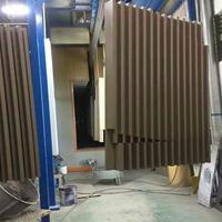 优质U型铝方通吊顶铝天花木纹方通德普龙厂家