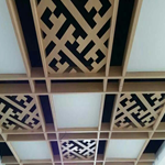 展厅大堂铝方通,木纹铝方通厂家专业定制