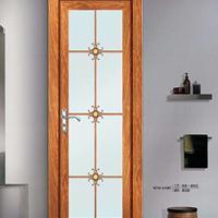 五月花定制钛镁合金平开门,室内卫生间门各隔断钢化玻璃平开门