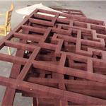 抚州市 街道立面改造铝合金窗花仿木纹铝窗花厂家/直供