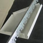 厂家直销加油站专用防风条扣天花 防风长条形铝扣板