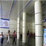 包柱氟碳铝单板天花幕墙