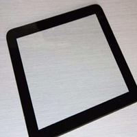 加工6mm黑色丝印钢化玻璃 有色玻璃工艺图案深加工
