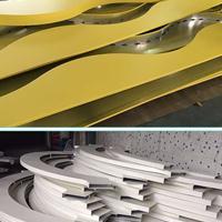 木纹铝方通,型材木纹铝方通,镀锌钢板吊顶/办公室铝扣板/厂家