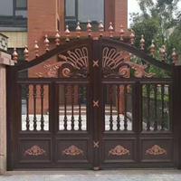 双流别墅庭院门,成都铝合金庭院门