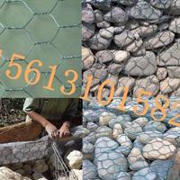 堤坝护岸石笼网箱厂家供货――绿色自然格宾石笼网多尺寸定做