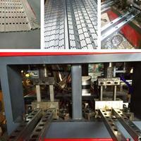 金属床架排骨架冲孔机 佛山银江机械全自动排骨架冲孔机