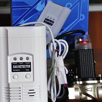 燃气报警器切断阀 天然气报警器电磁阀 管道燃气报警器安全阀