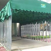 防城港定制门市店挡雨棚带轮式折叠帐篷加固施工铁皮棚帆布雨棚