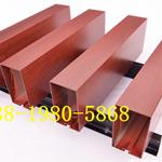 定制各种规格铝方通 仿木纹铝方通 工程室内装饰吊顶天花厂家