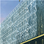 招牌定制镂空花纹铝板 店铺门头雕花铝单板