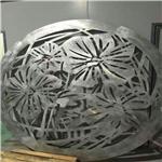 商场圆弧铝单板吊顶    镂空雕刻造型包柱铝单板