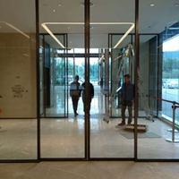 中山感应玻璃门在线咨询 丰本公司安装款式多