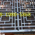 氟碳漆古铜色铝合金窗花-氟碳漆铝窗花价格