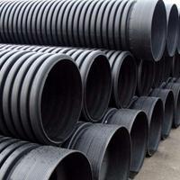 云南临沧PE波纹管,PE给水管打孔排水管生产厂家