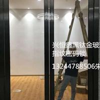 深圳罗湖玻璃门密码锁办公室玻璃门定做商场店铺玻璃门
