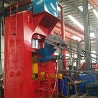 河北钢销压饼机 环保节能热压饼设备 针对废旧金属回收