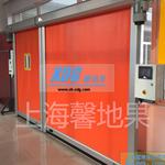 馨地果机器人焊接站防护门自动焊接防护门焊接站防弧光门卷帘门