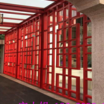 平顶山厂家直销铝合金窗花 仿古防护栏铝花格 铝花格
