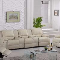订做YY头等舱沙发 私人影院沙发  影音室沙发图片