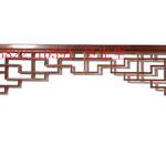 门楣装饰挂落,屋檐铝合金挂落,室内型材铝挂落定制厂家