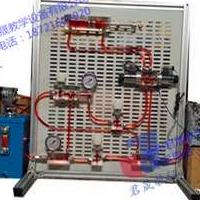 透明液压教具 便携式液压基本回路透明教具