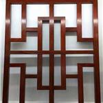 供应江西南昌街道改造,木纹铝窗花/复古铝合金花格/复古铝窗花