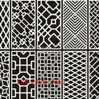 氟碳铝花格窗焊接成本-仿古铝花格订购批发