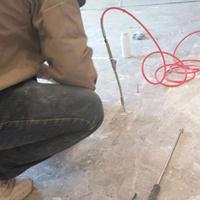 石材大理石地面墙面粘贴空鼓修补方法及材料