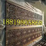定制仿古铝合金花格窗/复古铝合金花格窗/门头装饰铝挂落厂家