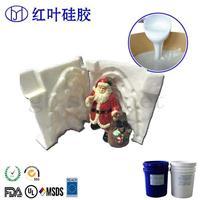 乳白色液体翻模硅胶 耐高温矽利康模具胶