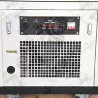 25千瓦静音车载汽油发电机