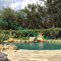 国产Sukabumi绿色游泳景观石