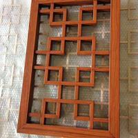 2.5mm厚铝窗花 铝合金窗花 复古窗 定制厂家