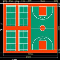 硅pu球场 3mm弹性硅pu篮球场 广东省球场材料厂家直销