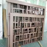 幕墻裝飾仿古鋁合金花格窗-防腐防水鋁格柵花格定制廠家