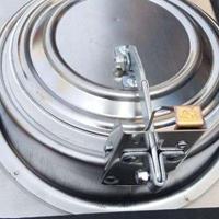 高密闭烟道防火止回阀克负压阻燃硅胶密封圈可以做烟雾实验