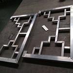 定制铝挂落,木色铝挂落,复古铝挂落/专业厂家