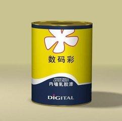 数码彩乳胶漆处于排行榜什么地位?数码彩可信吗?