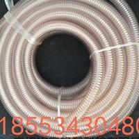 透明钢丝软管通风排烟管木工机械抽吸尘塑料橡胶内径25-500mm