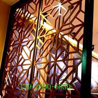 茶楼餐厅酒店铝窗花