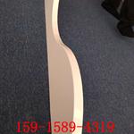 墙面弧形铝方通 波浪铝方通吊顶  木纹铝方通墙面装饰材料