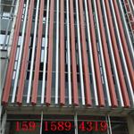 新型外墙铝方通-仿木纹铝方通吊顶